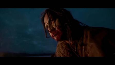 荒野猎人:为了活命生存,小李子生吃牛肝!