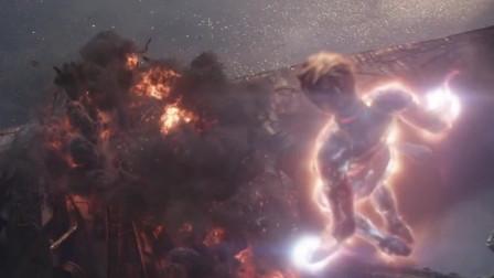 复仇逆战的转机人物,3秒灭战舰,比超人都强,灭霸看呆