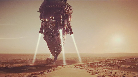 神灵300年后再回地球,人类已经进入星际时代,神没落地就被打爆