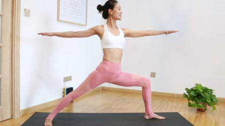 随时随地都能练的瑜伽体式,强力瘦腰又瘦腿,快来挑战