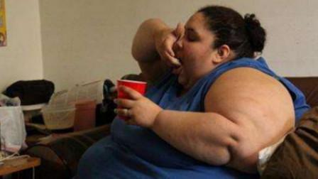 女子体重高达1088斤,被丈夫嫌弃后,5年减掉800斤成为大美女