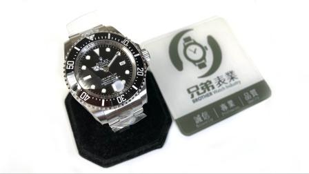 【金子讲表】终于等来了!AR904钢纯黑大鬼王海鸥可改ETA机芯版本腕表