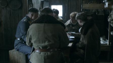 大雪封山,敌对士兵在小屋内亲如兄弟,天气好了却又继续厮杀!