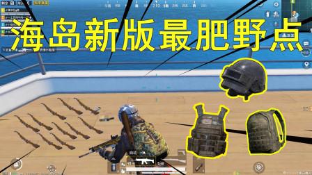 和平精英:落就神装,这个新野点太肥了, 信号枪,98K轻松获得!