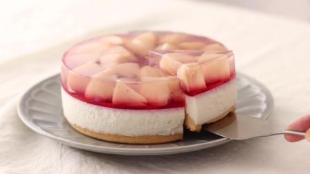 日式桃子奶酪蛋糕的做法