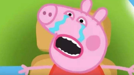 哭泣的小猪佩奇儿童卡通简笔画