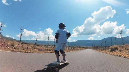 磨练中成长磨难中坚强少年滑手长板速降