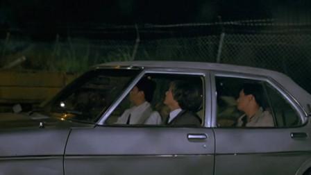 英雄本色2:四叔看到仇人开车来了,直接开车撞过去了