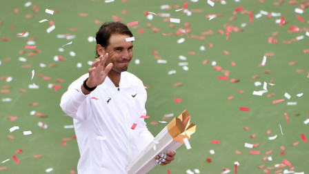 体育辣报 罗杰斯杯纳达尔夺大师赛35冠,生涯首次卫冕硬地赛