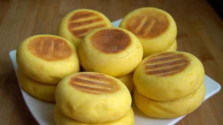 南瓜学会这样做,不放一滴油,松软香甜,比面包营养又好吃