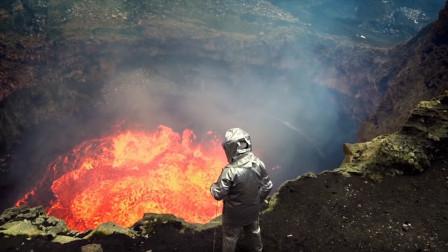 如果将垃圾丢入到火山中,会发生什么呢