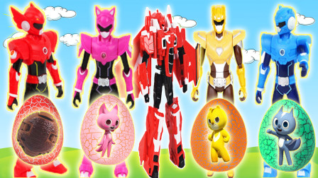 迷你特工队变形机器人战车大作战变形蛋奇趣蛋玩具
