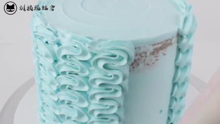 初学者裱花蛋糕,看看这个裱花基础,不仅好看还简单
