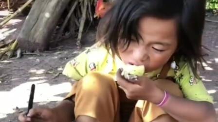 农村孩子:农村的主食基本都是马铃薯,好种又能充饥