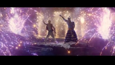 阿拉丁神灯出场秀,会魔法唱歌跳舞都这么炫酷