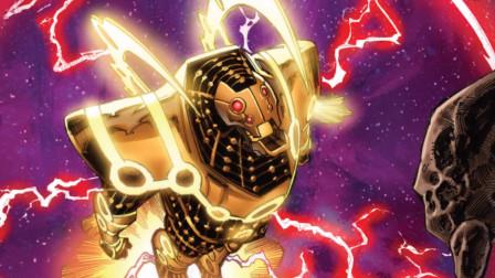 钢铁侠最强战甲:体型高600多米,藏于火星,对战天神组最佳武器