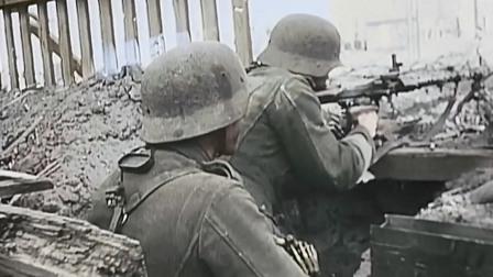 非常珍贵的二战影像,1942年斯大林格勒,纳粹德国与苏联之战!