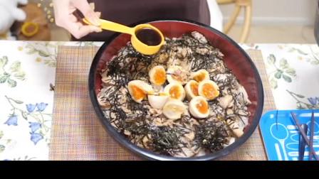 日本大胃王木下佑香狂吃叉烧饭和味增汤