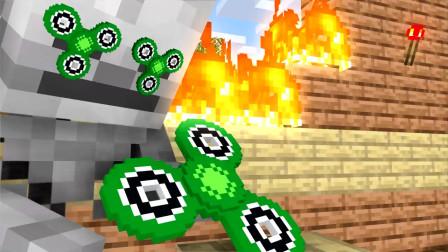 我的世界动画-怪物学院-指尖陀螺-Animated Blocks