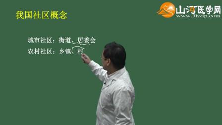 01山河医学网-主管护师考试:社区护理学-概论