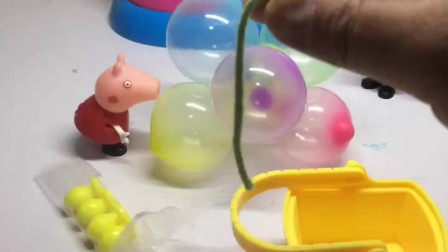 少儿益智亲子玩具乔治和佩奇想要飞起来他们真的好聪明呀