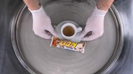 炒冰淇淋卷 黑咖啡白巧克力棒 relaxing