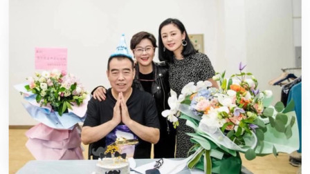 陈凯歌夫妇罕见同框庆祝生日 50岁陈红美貌依旧 儿子陈飞宇出镜送祝福