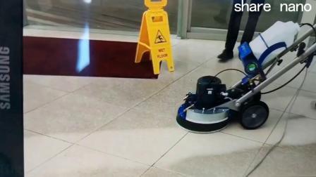 大理石地板清洁机百洁垫 新密胺圆盘 地面保养清洁| xmsihang