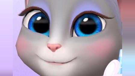 安吉拉爱化妆 汤姆猫游戏