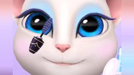 安吉拉教你化妆 汤姆猫游戏