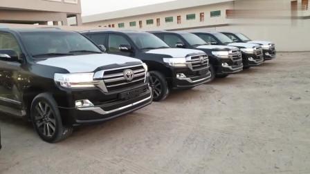 订购的19款丰田兰德酷路泽中东版到港,坐进驾驶室那刻感觉买对了