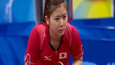 福原爱也有无法战胜的对手!从来没有参加奥运会,却是日本最大功臣