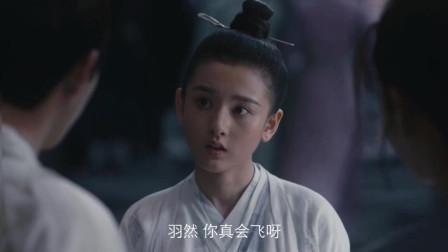 《九州缥缈录》羽然闹笑话了,想飞都飞不起来,姬野暖心安慰