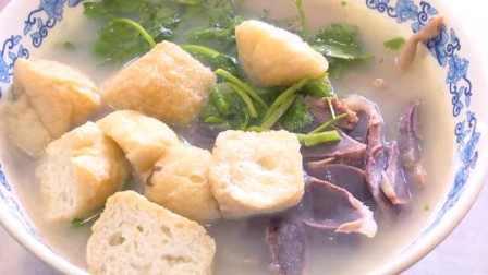 这碗鸭血粉丝诚意满满:8只整鸭熬制高汤,粉丝是农村红薯粉