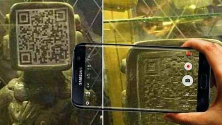 """玛雅人留下的""""二维码""""?游客好奇拿出手机,扫出了什么?"""