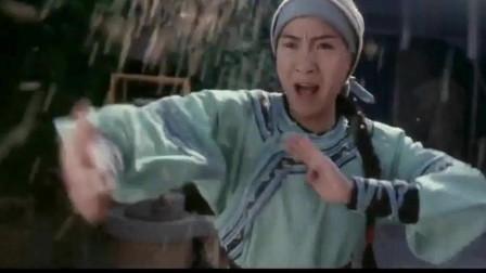 咏春:严咏春比武飞天猩猩,咏春拳对棉花肚,八斩刀对霸王枪