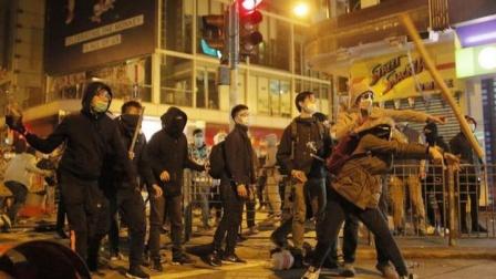 用恶毒暴力毁香港的究竟是些什么人?