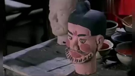 古今大战秦俑情:冬儿给秦俑画腮红上眼睫毛,宫疆气愤:我掐死你!
