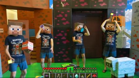 我的世界动画-复制史蒂夫-Brick Real Games