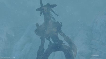 《巨神狩猎》寒冰之地游戏实况解说04:大猩猩这是
