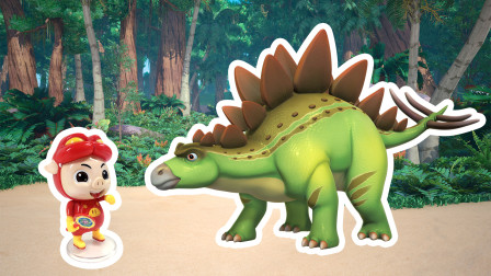 """恐龙日记身上插满剑的""""大象""""?大百科知识异特龙来了!"""