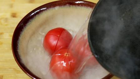 番茄鸡蛋汤的正确做法, 掌握了这个重要步骤, 做的汤好喝100倍!