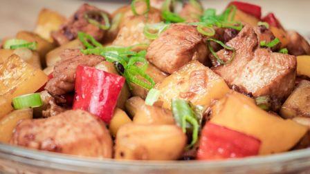 鸡肉别只会炖蘑菇,教你1款好吃做法,一次做3斤不够吃,太香了!
