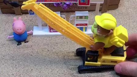 少儿益智亲子玩具:小力开车来加油了,小力的车子会变身!
