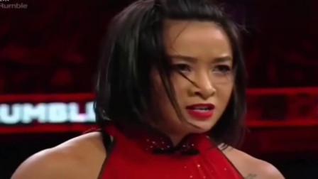 wwe2019皇家大战 WWE 2019皇家大战中国女人 李霞动作帅炸全场