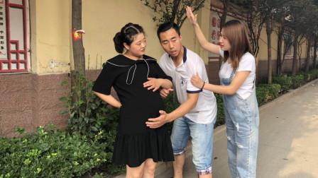 妻子逛街,看到丈夫扶着怀孕女秘书,上去就是一耳光,结局解气