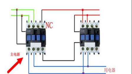 电工知识:双电源手动切换电路,一主一备工作原理,实物讲解