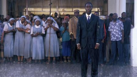"""几分钟带你看完《卢旺达饭店》,也被誉为""""非洲版""""辛德勒"""