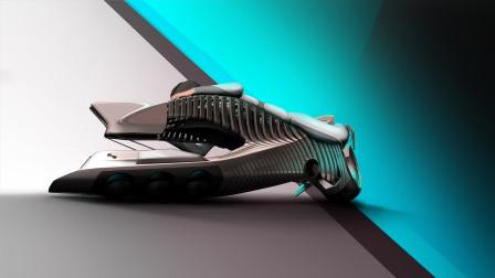 宝马研发新概念鱼骨摩托车,设计颠覆常识,这还是摩托车吗?