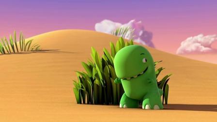 小恐龙乐园 恐龙们玩起了捉迷藏游戏,谁会是最后的赢家呢?